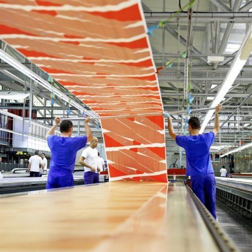 Foulard Hermès – Video La fabrique de soie