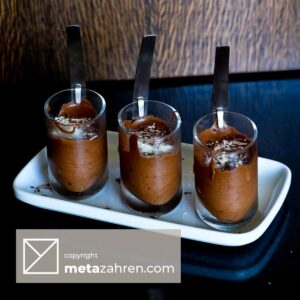 Chocolate Mousse doubling as Chocolate Icecream