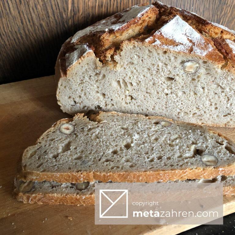 Roggebrood met drietraps zuurdesem fermentatie